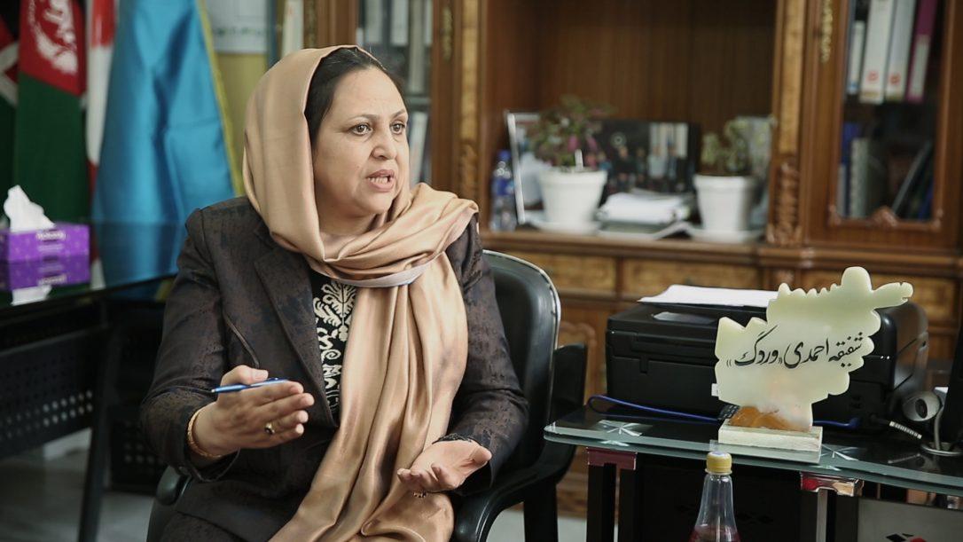 Shafigha Ahmadi Vardak (Euronews)
