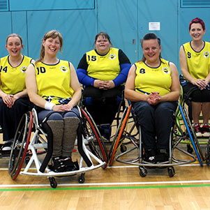 Cambridge 105: Wheelchair Basketball